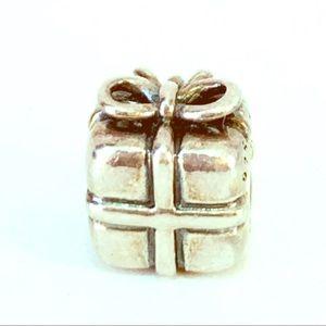 Pandora 925 ALE Gift Box Present Charm